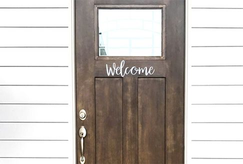 Pearland Home Decor Door Welcome